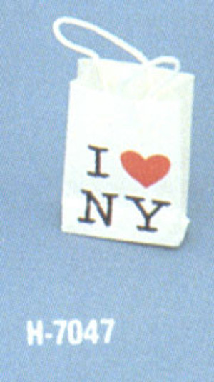 RY H7047 - I Heart NY Shopping bag