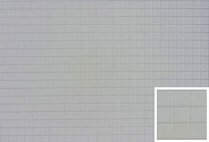 Dollhouse Miniature - FF60610 - Tile: Square - White