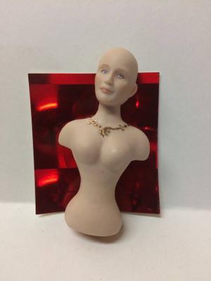 Olivia Necklace - Porcelain Doll Kit - Torso Only