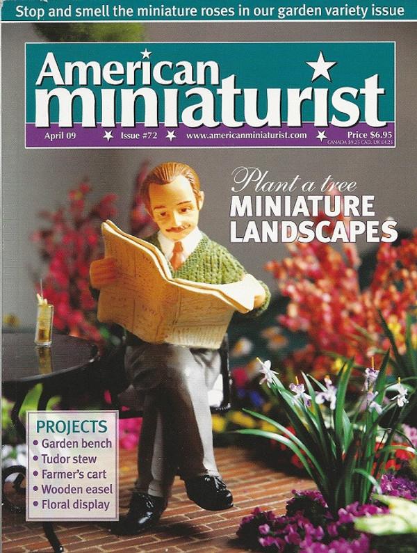American Miniaturist Magazine - April 2009