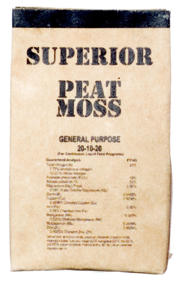 Dollhouse Miniature - SUPERIOR PEAT MOSS BAG - FA56003