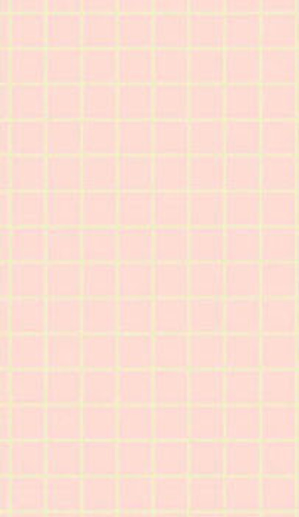 Dollhouse Miniature - No Wax Floor - Small Check - Pink - MH5923