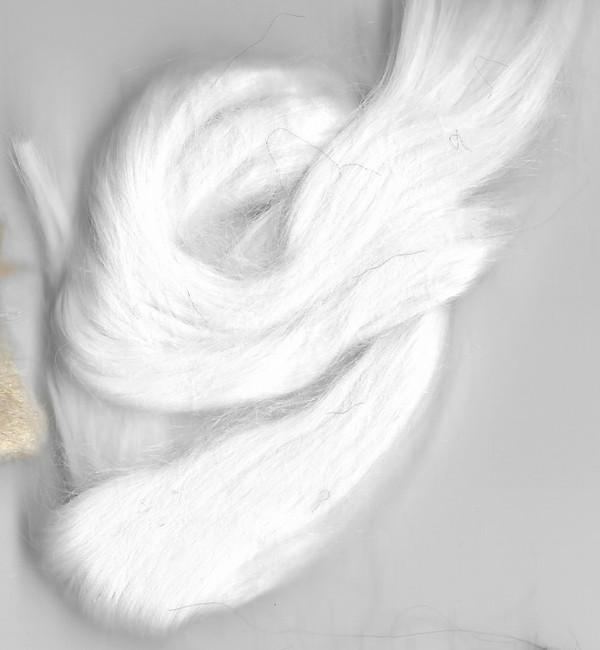 White - Wigging Material