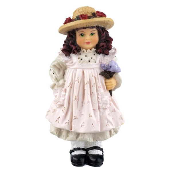 HW3084 - Dottie - Girl in Straw Hat