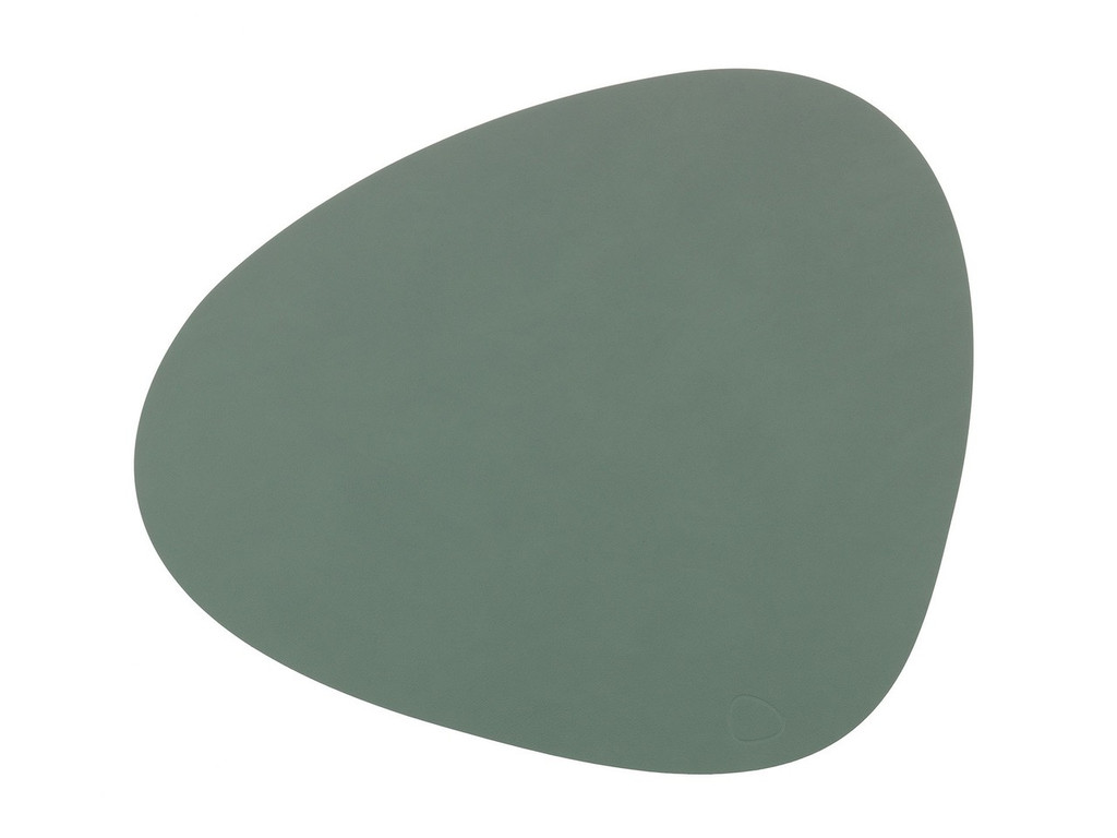 LIND DNA - CURVE TABLE MAT - PASTEL GREEN