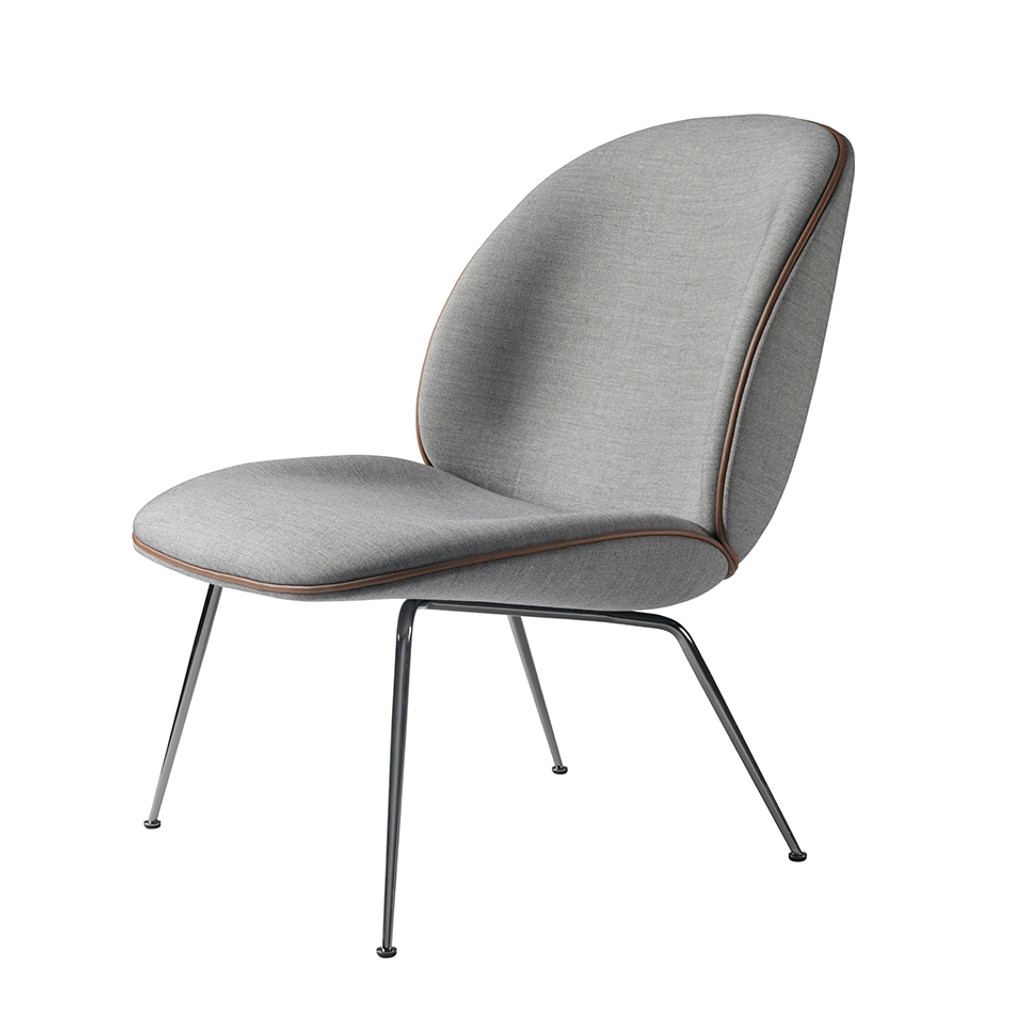 GUBI   BEETLE LOUNGE CHAIR UPHOLSTERED