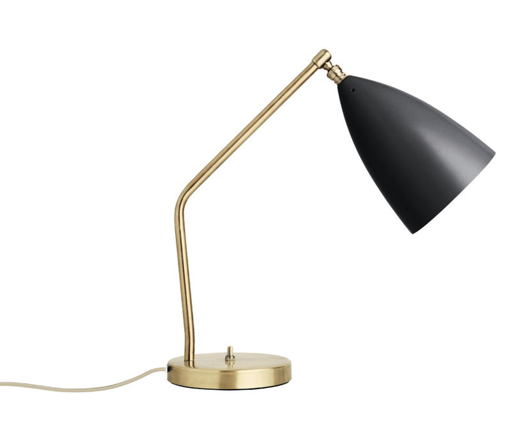GUBI - GRASHOPPA DESK LAMP ANTHRACITE GREY