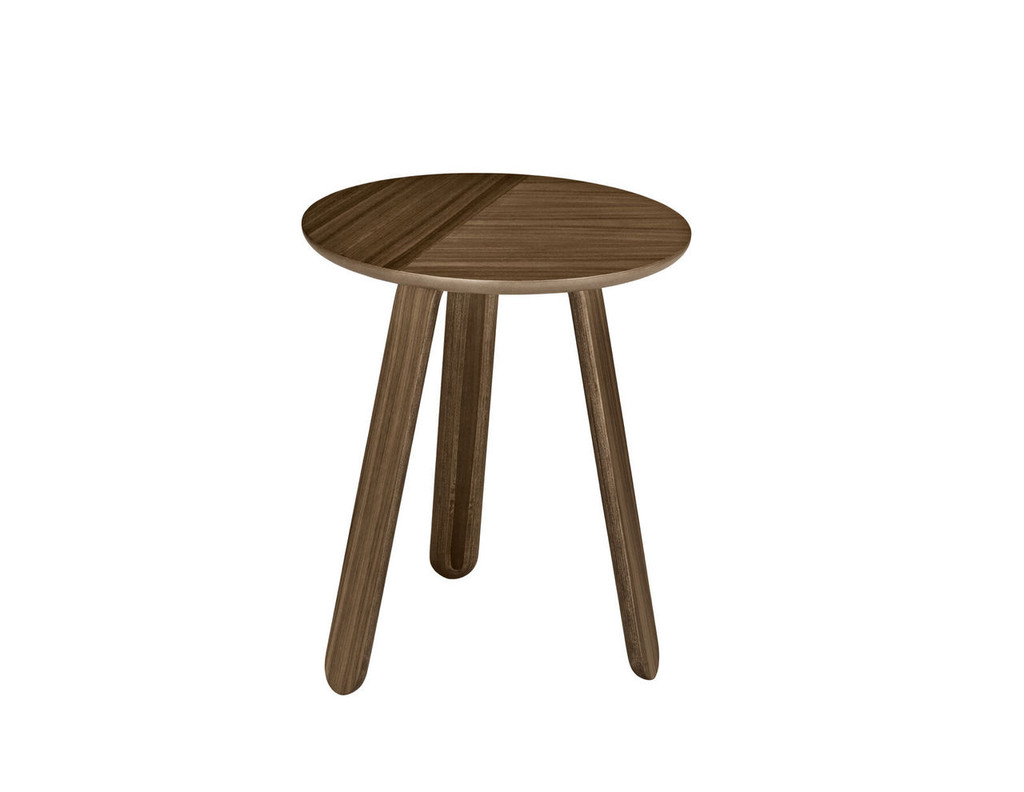 GUBI - PAPER TABLE WALNUT SMALL