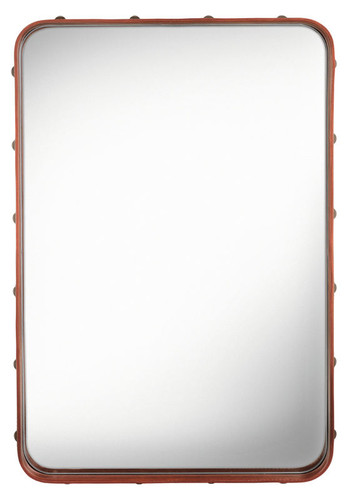 GUBI - ADNET RECTANGULAR MIRROR S TAN