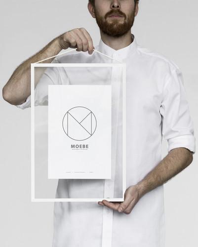 MOEBE - FRAME A3 WHITE