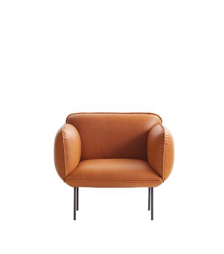 WOUD - NAKKI 1 SEAT SOFA - CAMO SILK ANILINE