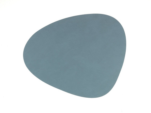LIND DNA - CURVE TABLE MAT - LIGHT BLUE