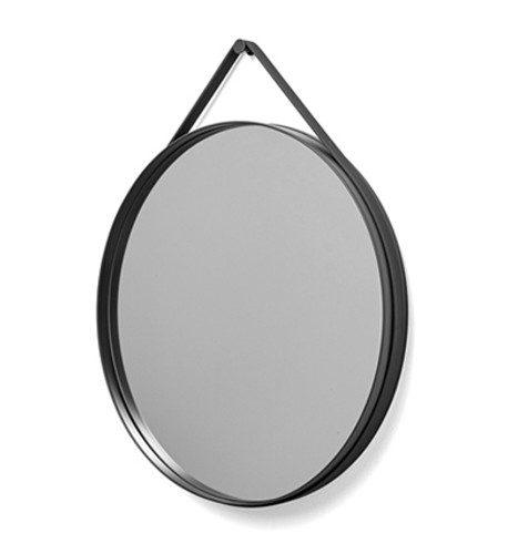 HAY - STRAP MIRROR 70 ANTHRACITE