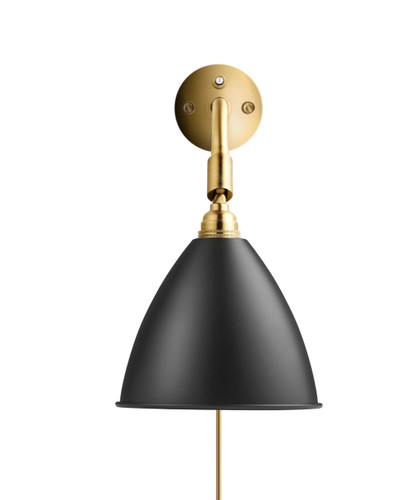GUBI - BL7 WALL LAMP BLACK /BRASS (other colours available)