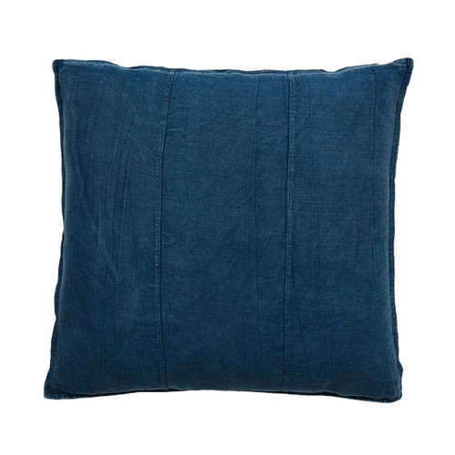 EADIE LIFESTYLE - LUCA CUSHION NAVY LARGE