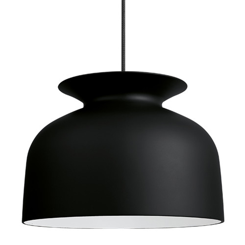 GUBI - RONDE PENDANT LARGE PALE BLACK