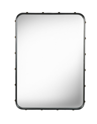 GUBI - ADNET RECTANGULAR MIRROR S BLACK