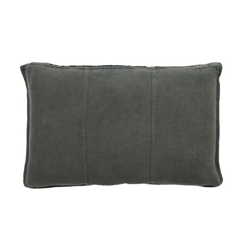 EADIE LIFESTYLE - LUCA RECTANGULAR CUSHION SLATE