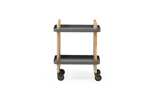 NORMANN COPENHAGEN - BLOCK TABLE DARK GREY