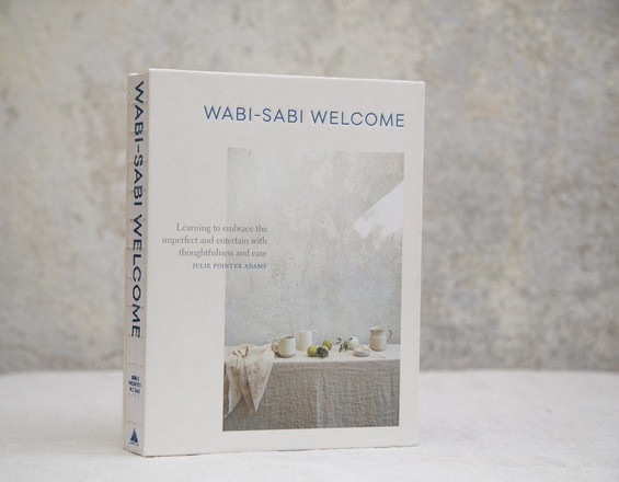 ON THE BOOKSHELF /// WABI SABI WELCOME