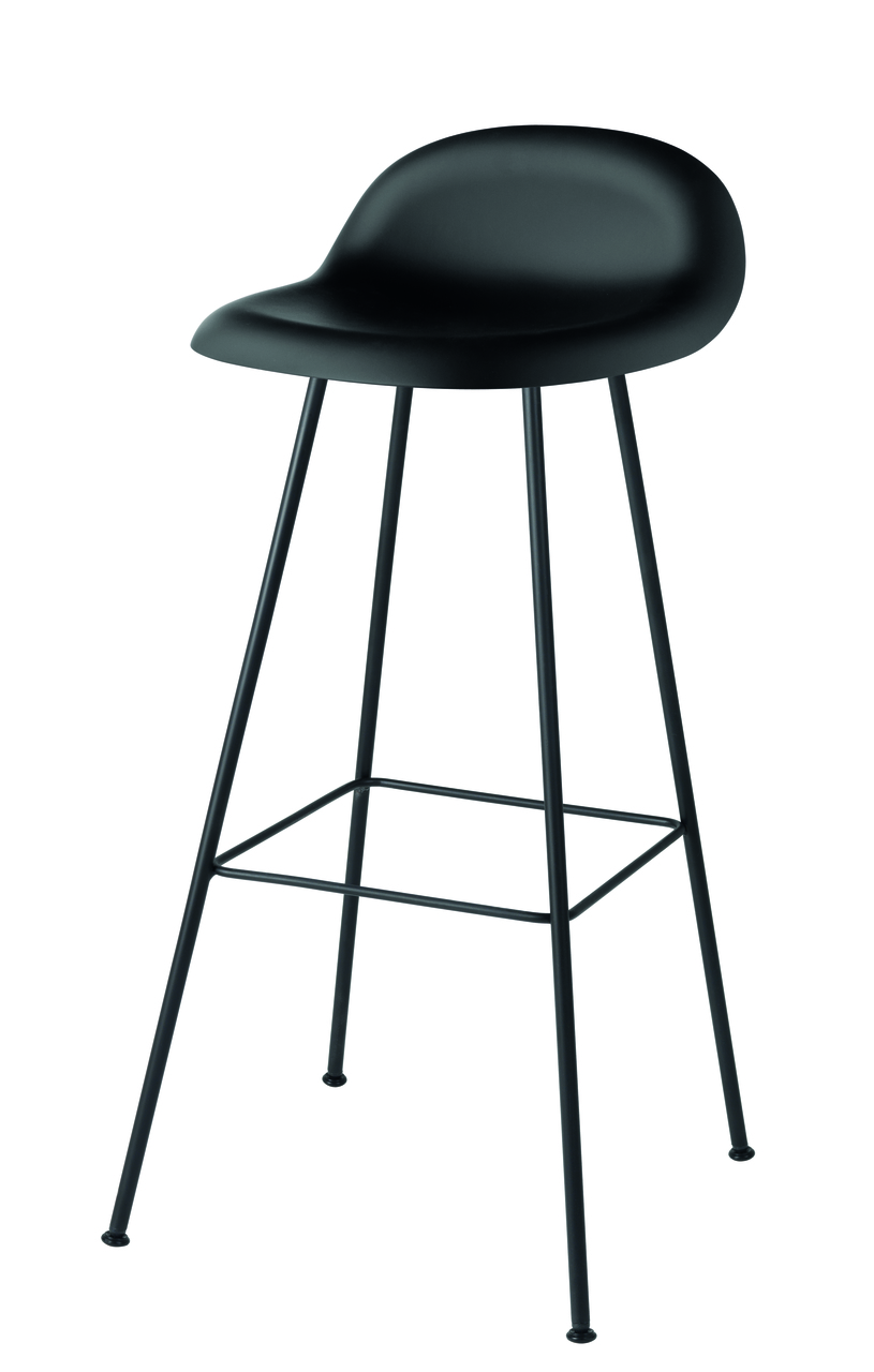 chrome departments black stools basilio d bar stool w effect modern h pin