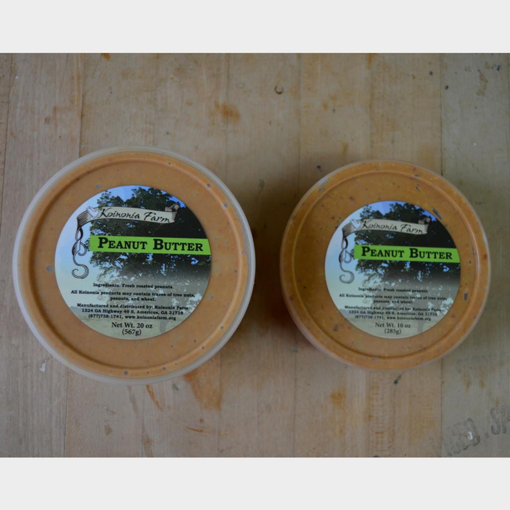 Koinonia Farm Handmade Peanut Butter Tub Options