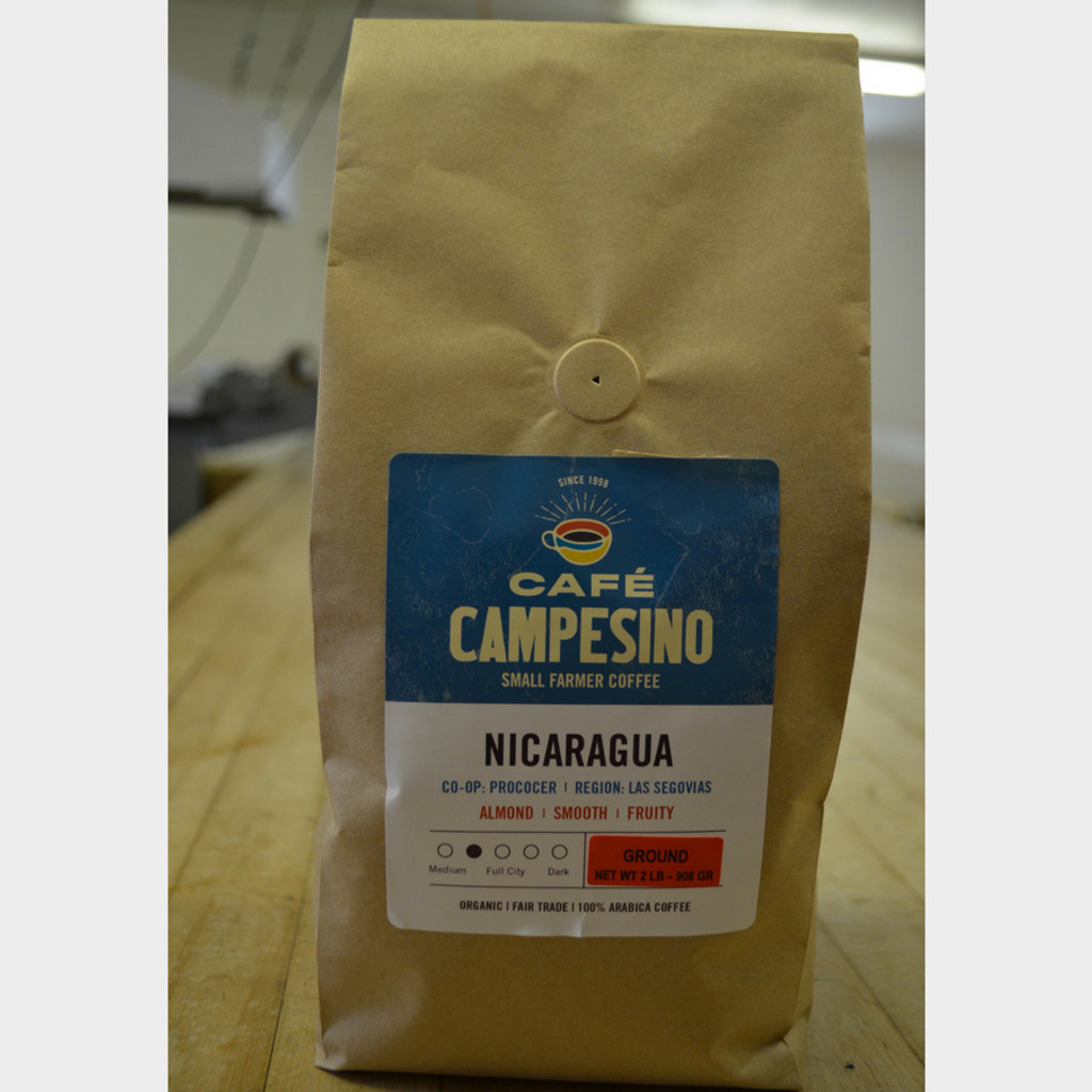 Koinonia Farm Fair Trade Coffee Nicaragua 2 lb Ground