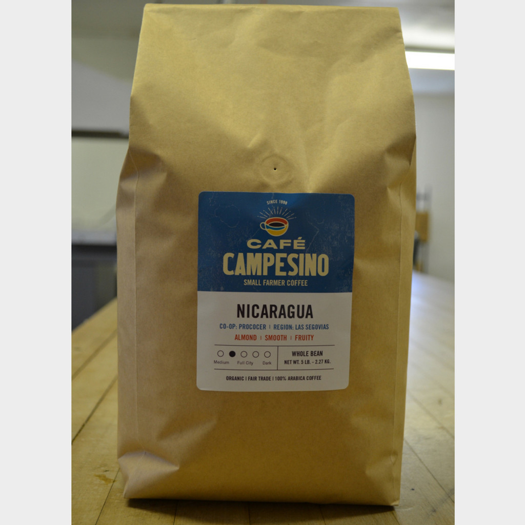 Koinonia Farm Fair Trade Coffee Nicaragua 5 lb Whole Bean