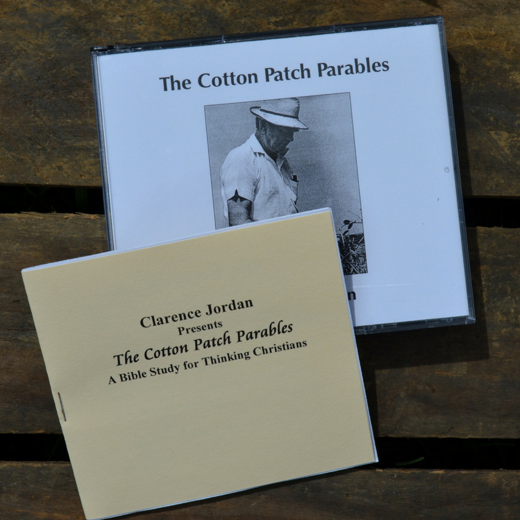 Cotton Patch Parables by Clarence Jordan Study Materials Booklet
