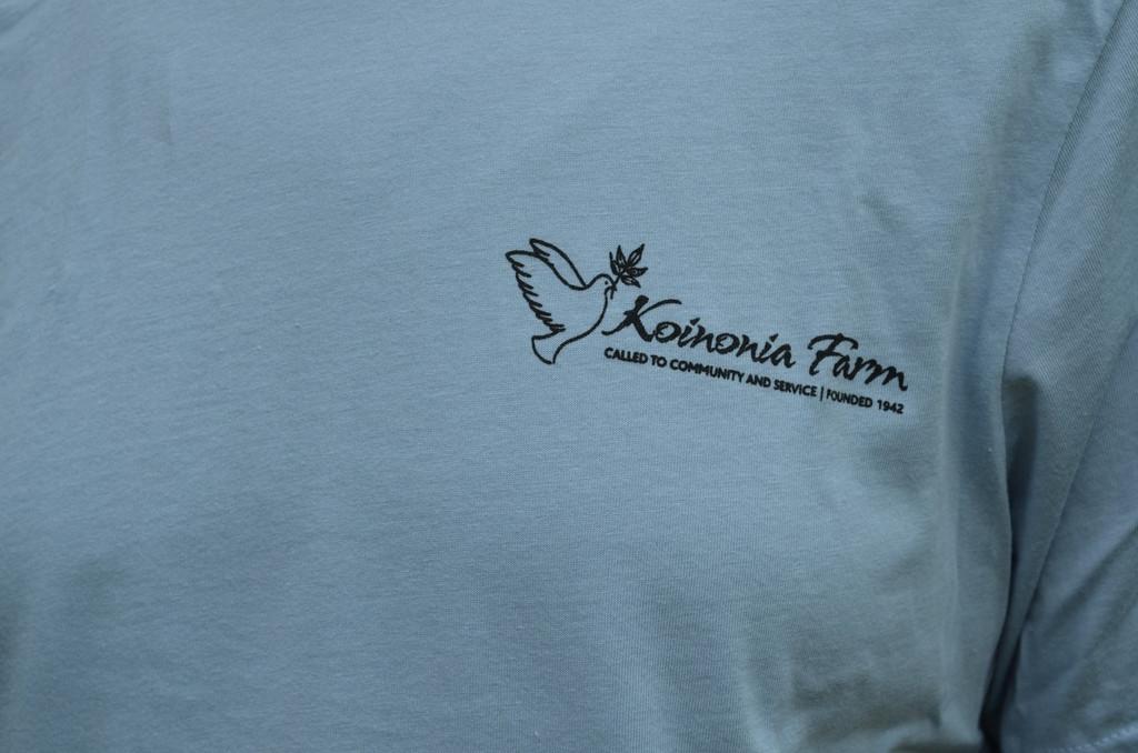 Partnership Made T-Shirt Front Koinonia Logo