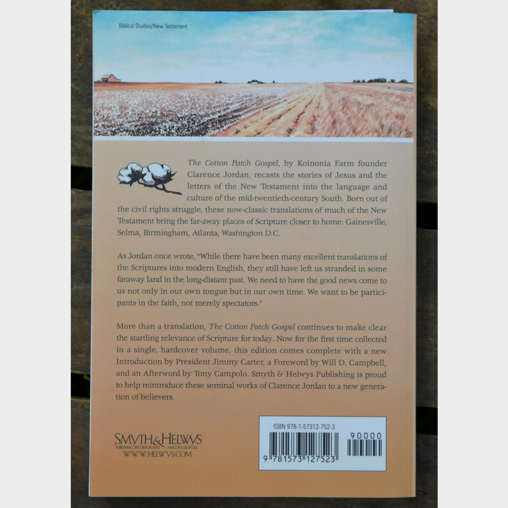 Cotton Patch Gospel The Complete Collection Paperback Back Cover