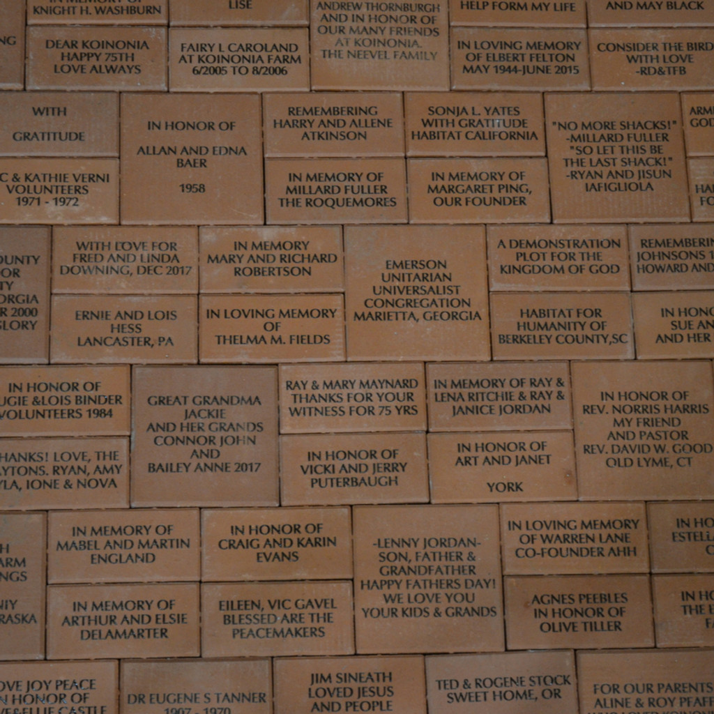 Commemorative Bricks Overview