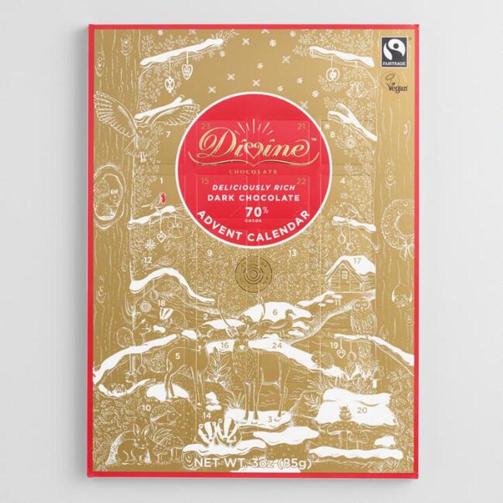 Divine Dark Chocolate Fair Trade Advent Calendar