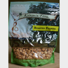 Koinonia Farm Roasted Peanuts 1 lb Bag Front