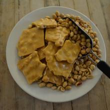 Koinonia Farm Handmade Peanut Brittle Above