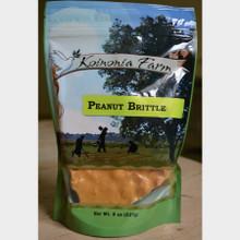 Koinonia Farm Handmade Peanut Brittle 8 oz. bag front