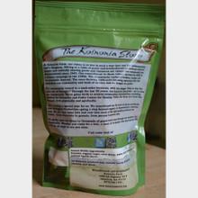 Koinonia Farm Handmade Peanut Brittle 8 oz. bag back