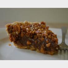 Koinonia Farm Handmade Pecan Pie Slice