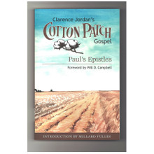 Cotton Patch Gospel Paul's Epistles by Clarence Jordan Book Front Cover