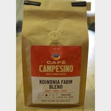 Koinonia Farm Blend Fair Trade Coffee by Cafe Campesino 1 lb bag whole bean Thumbnail
