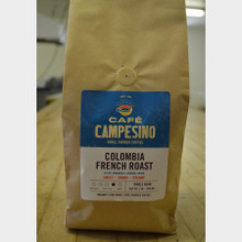 Fair Trade Coffee Colombia French Roast 2 lb bag whole bean