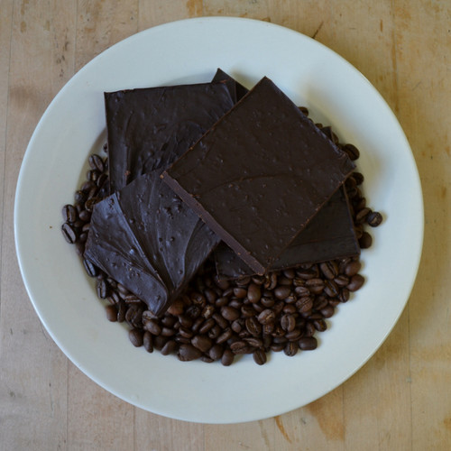 Fair Trade Extra Dark Chocolate Espresso Bean Bark
