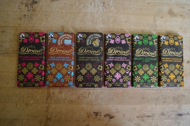 Divine Fair Trade Chocolate Bars by Koinonia Farm