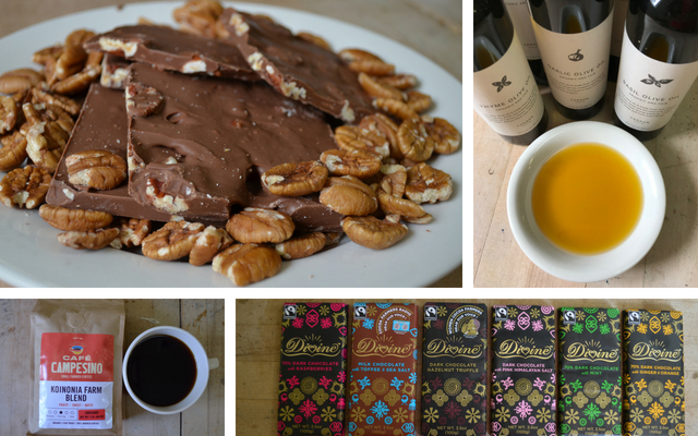 Fair Trade Chocolate, Coffee, Olive Oil from Koinonia Farm