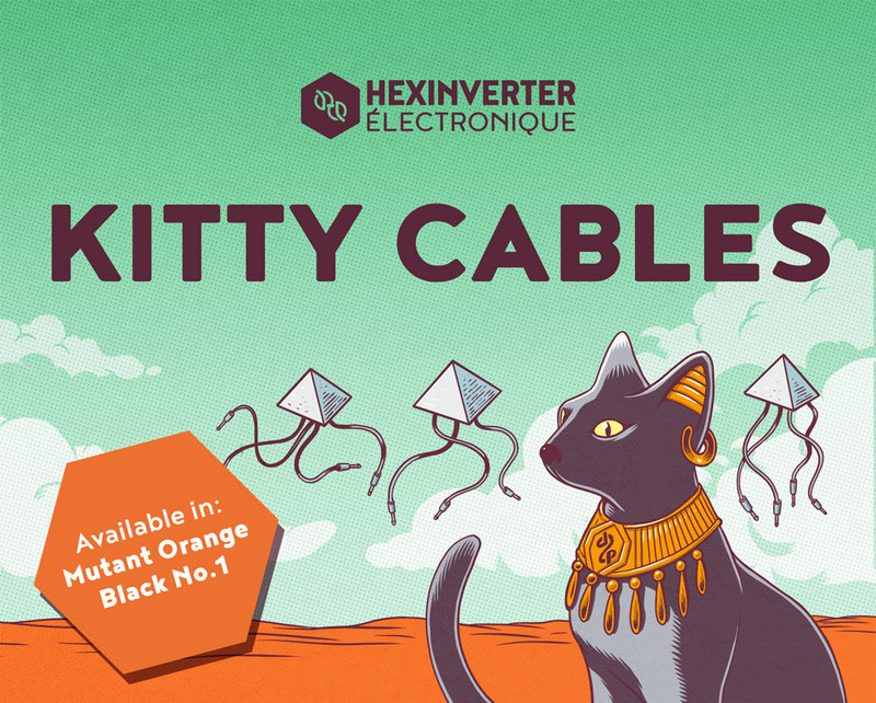 Eurorack Patch Cables - 3.5mm Kitty Cables
