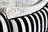 PRE ORDER: Annecy Chaise Longue - black and white