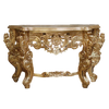 PRE ORDER: Gamble Console Table - Gold