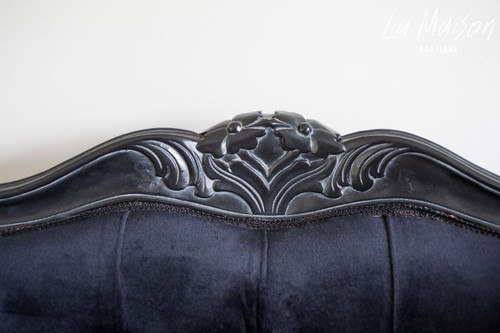 IN STOCK NOW: Wingback Palermo - Black