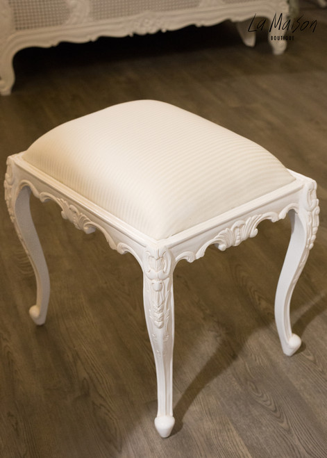 PRE ORDER:  French Carved Stool