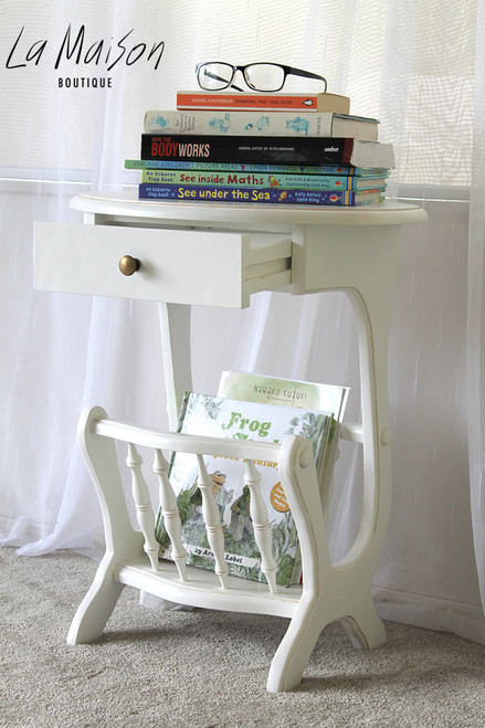 IN STOCK NOW: Oval Magazine Rack